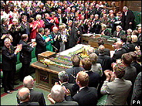 Tony Blair's final Commons appearance
