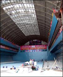 Tank at new museum for Nanhai 1