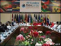 Petrocaribe summit