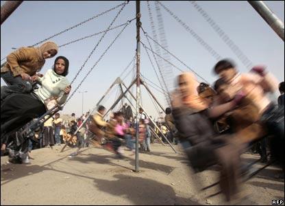 Children in Sadr City mark Eid al-Adha