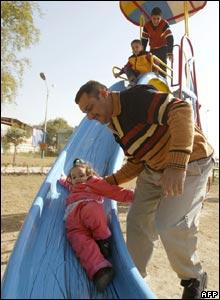 Abu Nawas park in Baghdad