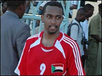 Sudan's Abdelhamid Amarria