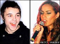Leon Jackson and Leona Lewis