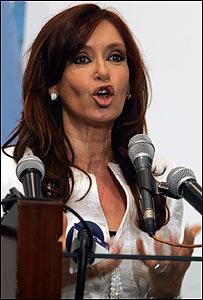 Cristina Fern�ndez de Kirchner