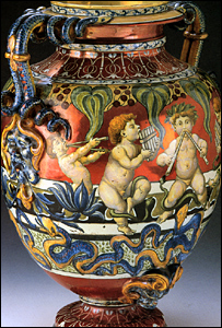 A valuable urn recovered by police