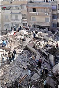 انهيار منزل بالاسكندرية