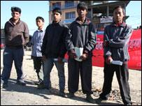 YCL members in Kathmandu