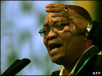 ANC leader Jacob Zuma, 20 December 2007