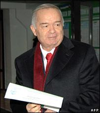 Uzbekistan President Islam Karimov (file photo)