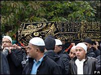 Funeral of Rizwan Darbar