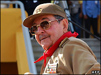 Acting Cuban President Raul Castro - 22/12/2007
