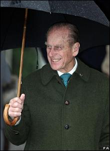 The Duke of Edinburgh, Christmas Day 2007