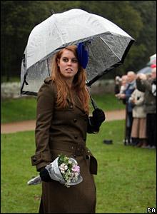 Princess Beatrice, Christmas Day 2007