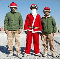 Air movement staff dress up in Helmand province,  Afghanistan