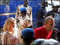 French aid workers in Chadian custody. 26 Dec