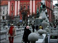 Centre of Ljubljana
