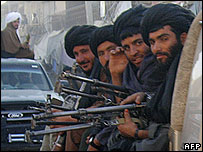 Taleban in Helmand province, file photo 6 Nov 2007