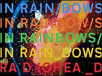 Radiohead's In Rainbows artwork