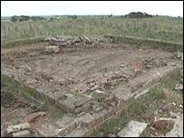 Ruin at Bowes Moor