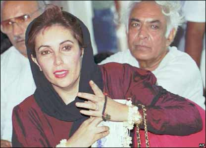 Benazir Bhutto in 1991