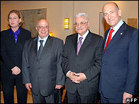 Livni, Qurei, Abbas and Olmert