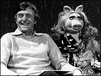 Michael Parkinson and Miss Piggy in 1978