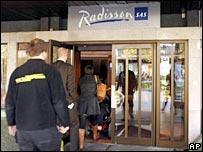 The Radisson hotel in Bergen