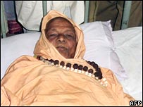 Hindu leader, Swami Laxamananda, in hospital earlier this week in Orissa