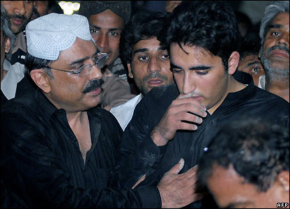 Asif Ali Zardari and Bilawal