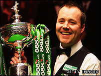 Scotland's two-time snooker world champion John Higgins
