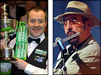 John Higgins and Ian Anderson
