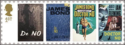 Jame Bond stamps