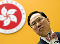 Donald Tsang discusses the NPC's ruling (29 December 2007)