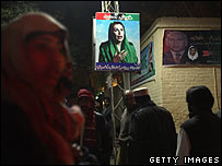 Supporters mourn Benazir Bhutto 28/12/07