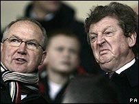 Fulham's new management team of Les Reed and Roy Hodgson