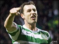 Scott McDonald celebrates the opening goal