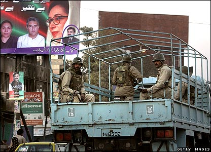 Soldiers in truck 29/12/07
