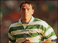 Phil O'Donnell in Celtic colours