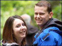 Jenni Jones and Stuart Desborough