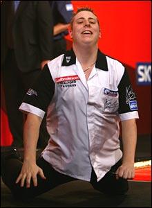 Qualifier Kirk Shepherd has enjoyed a dream run to the semi-finals.