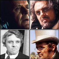 Anthony Hopkins as Hannibal, Othello; in War and Peace and a 1974 Play For Today
