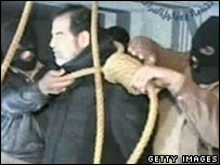 Saddam Hussein's execution