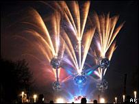 Brussels fireworks
