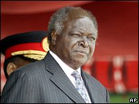 Mwai Kibaki. File photo