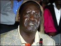 Raila Odinga (30 December 2007)
