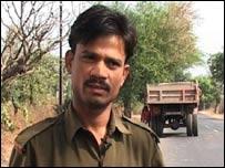 Haribhau Varman, bus driver