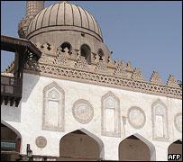 جانب من جامع الأزهر