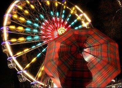 Celebrations get under way in Edinburgh, UK