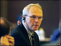 US chief nuclear negotiator Christopher Hill