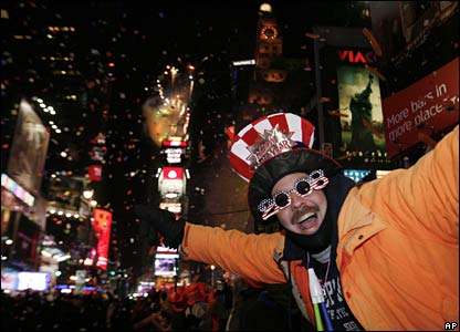 New York celebrations